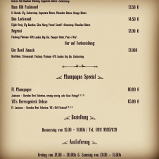 Vintage Bar Fine Drinks - Bottled Drinks vs. Corona